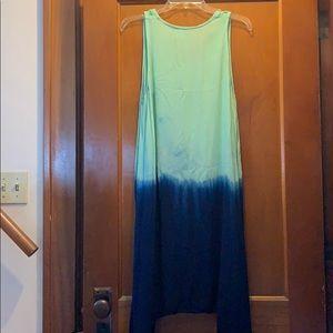 island beach Dresses - Island beach tie dye dress or swim coverup small